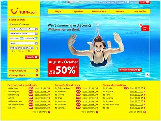 Website de TUIfly.com